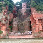 Leshan Buddha statue, China
