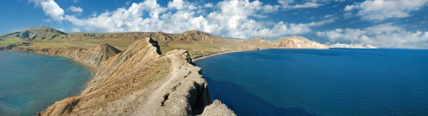 Cape Cameleon on the Crimea Peninsula