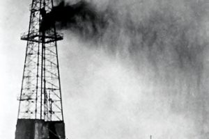 Dammam No. 7, the first commercial oil well in Saudi Arabia, which stuck oil on March 4, 1938