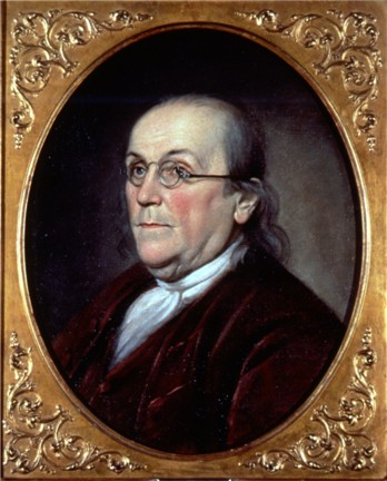 Benjamin Franklin by Charles Willson Peale (1785)